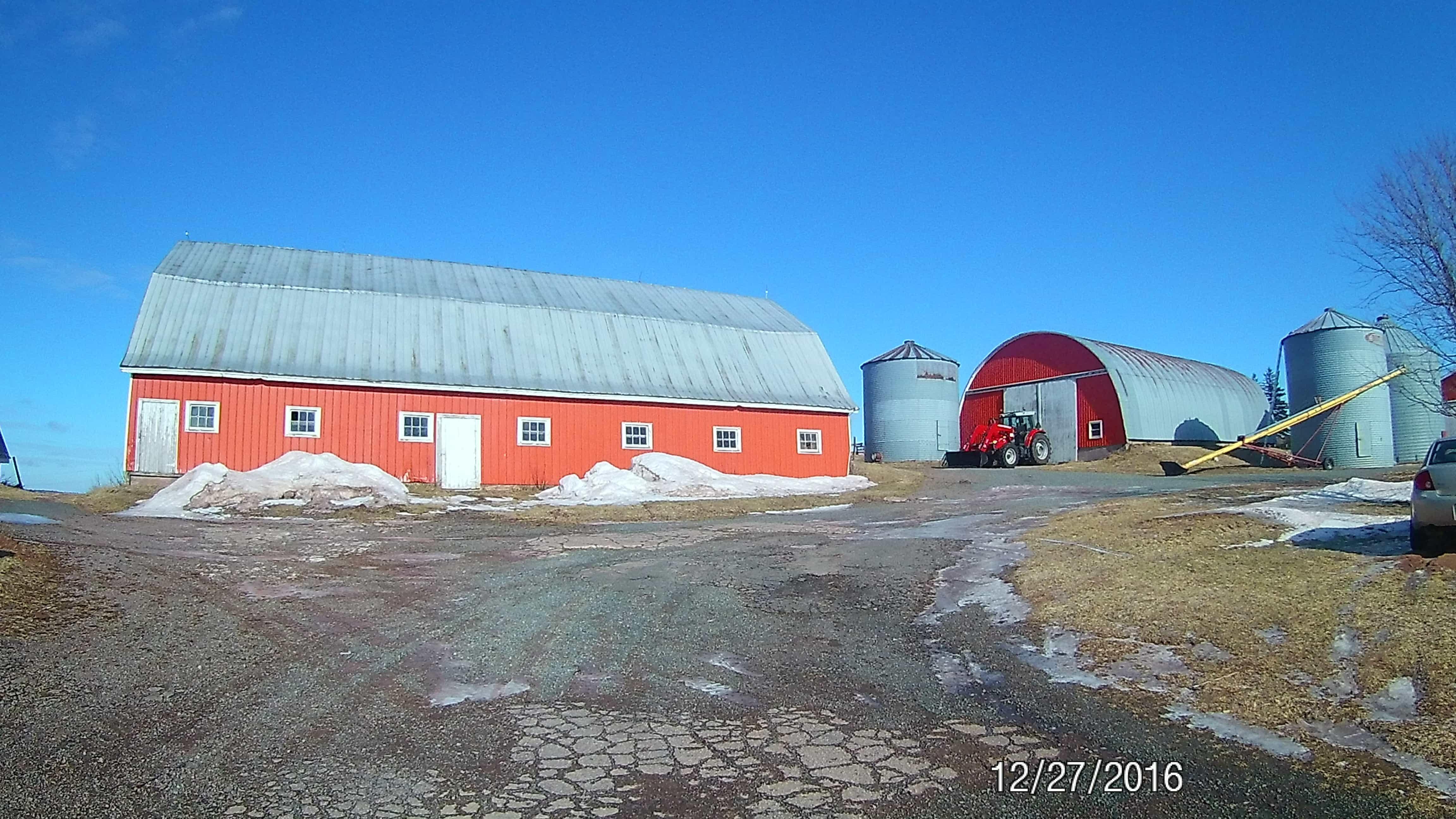 Former Dairy Farm For Sale - Queens, Prince Edward Island