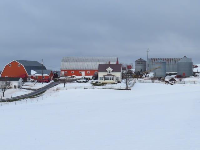 Former Dairy Farm - Queens, Prince Edward Island